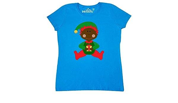 26af41da2 Amazon.com: inktastic - Christmas Elf Ethnic Women's T-Shirt XX-Large  Sapphire 1f9bb: Clothing
