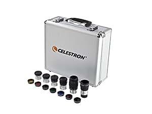 Celestron Eyepiece and Filter Kit – 14 Piece Telescope Accessory Set