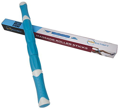 ProSatisfy-Pro-Style-Massage-Stick-Muscle-Roller-with-Handle-185-Inch-Soothing-Trigger-Point-Stress-Relief-Therapy-for-Back-Neck-Shoulders-For-Gym-CrossFit-Running-Sports-More-Blue