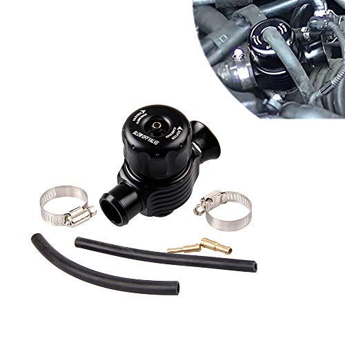 BENBW 1Set Adjustable Dual Side Turbine Relief Valve Pressure Adjustable Relief Valves 25mm Blow Dump Valve Adaptor for Cars