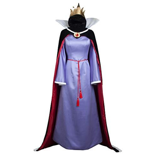 CosFantasy Deluxe Evil Queen Cosplay Costume Fancy Dress Halloween mp004178 (Women -