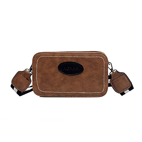 Hot Selling!!!♛HYIRI Women's Ins Small Wild Retro Messenger Chic Waterproof Wide Shoulder Strap Bag from HYIRI