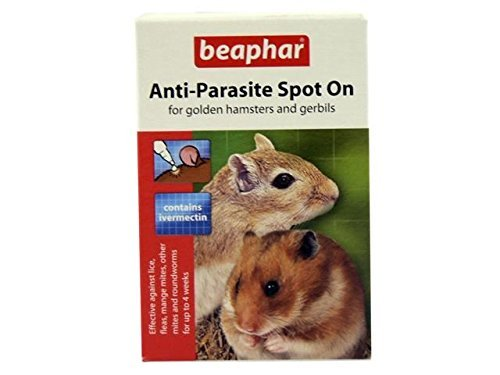 (2 Pack) Beaphar - Anti-Parasite Spot On (Hamster/Gerbil)