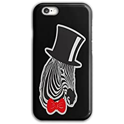 Sir Hipster Zebra Fashion Crazy Zoo iPhone 6 / 6S Case | Wellcoda