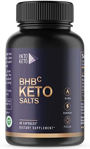 Weight Loss Pills, Keto Advanced, Formulated for Women and Men, Energy Boost with BHB Exogenous Ketones – 60 Capsules