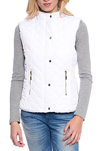 Womens Quilted Sherpa Zipper Closures product image