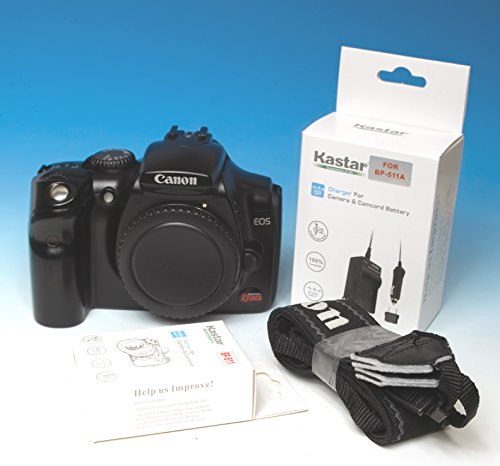 Canon EOS Digital Rebel DS6041 / 300D DSLR Camera - Black (Body (Canon Eos 300d)