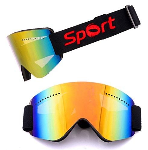 Material Gafas de esquí Prueba Prueba de Arena Alpinismo explosiones a PC Nieve AArx10