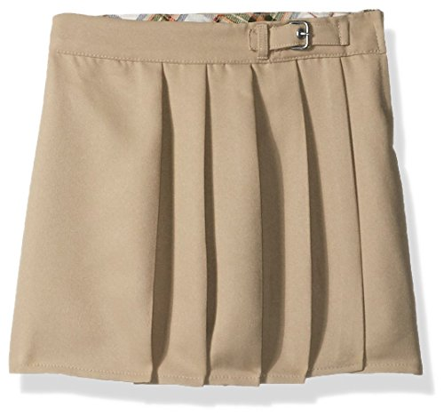 Eddie Bauer Big School Uniform Girls Scooter, Poly Khaki-AJKC, 8 by Eddie Bauer