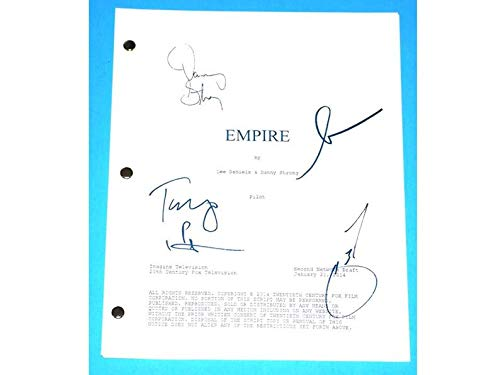 NHMug Empire Signed Movie Script Poster Gift Poster for Fan [No Framed] Poster Home Art Wall Posters (24x36) -