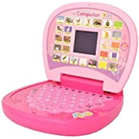 Oviwa VE Educational Computer ABC and 123 Learning Kids Laptop with LED Display and Music