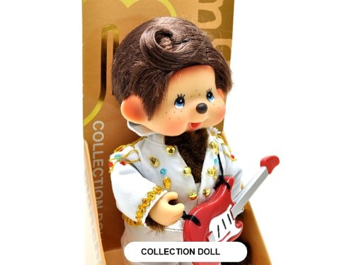 Sekiguchi Authentic Limited Edition & Collection Doll Monchhichi Elvis Presley 8'' (20 cm) . by Sekiguchi (Image #2)