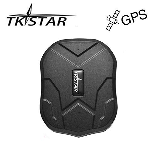TKSTAR GPS Tracker,GPS Tracker for Vehicles Waterproof Real Time Car GPS Tracker Strong Magnet Tracking Device For Motorcycle Trucks Anti Theft Alarm TK905 (Gps Time Tracker Real)