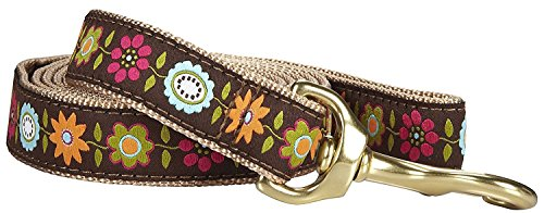 Up Country Bella Floral Lead - Wide - 6 (Floral Leash)