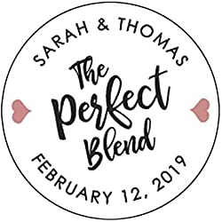 The Perfect Blend Wedding Stickers Wedding Favor Stickers Perfect Blend Stickers Coffee Favor Wedding Labels Wedding Stickers for Favors F11:32