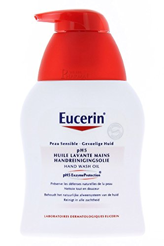 (Eucerin pH5 Hands Cleansing Oil 250ml)