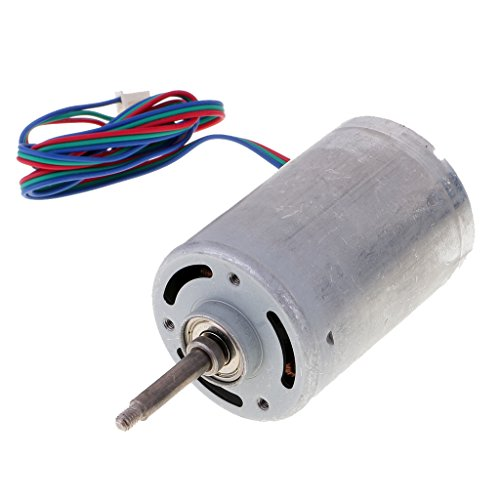 (MagiDeal 3 Phase Micro Mini Brushless Motor Brushless Generator for RC Car Spare Part)