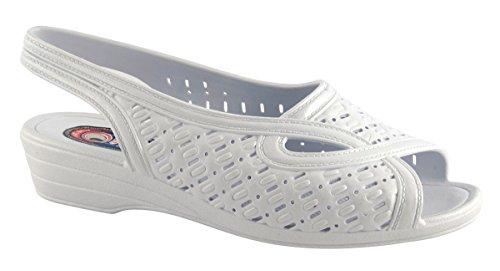 Otafuku ® Damen Magna Protect 800 Japanischer Gesundheitsschuh / Reflexzonen Massageschuh Weiß