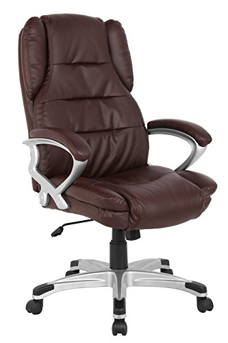 High Back Executive Leather Chair - 9