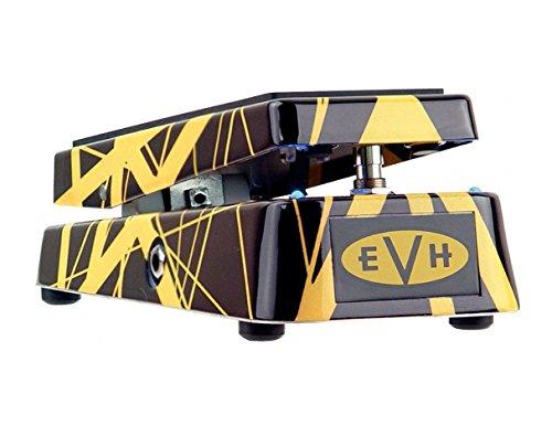 Dunlop EVH95 Eddie Van Halen Signature Wah Pedal w/Bonus Deluxe Patch Cable and RIS Picks (x3) 7-10137-02961-3