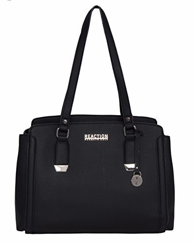 Kenneth Cole REACTION Franny Satchel Handbag (Black)