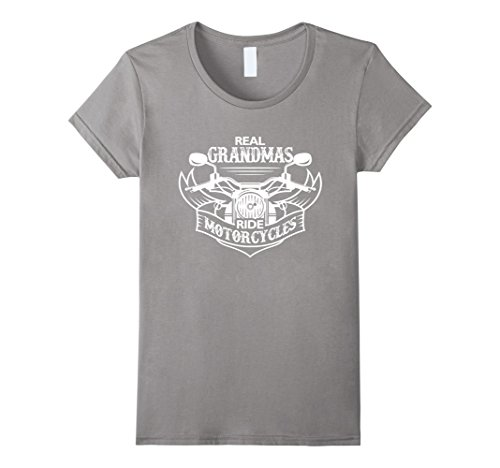 Women's Real Grandmas ride motorcycles - Funny grandma - Lady Rider Motorcycle Shirts