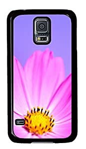 Samsung Galaxy S5 Nature flower 2 PC Custom Samsung Galaxy S5 Case Cover Black