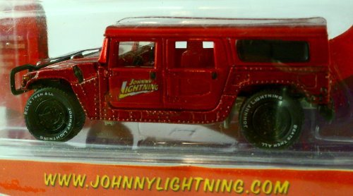 Johnny Lightning Racing Legends (JOHNNY LIGHTNING, WICKED WAGONS, 00 HUMMER H1,)