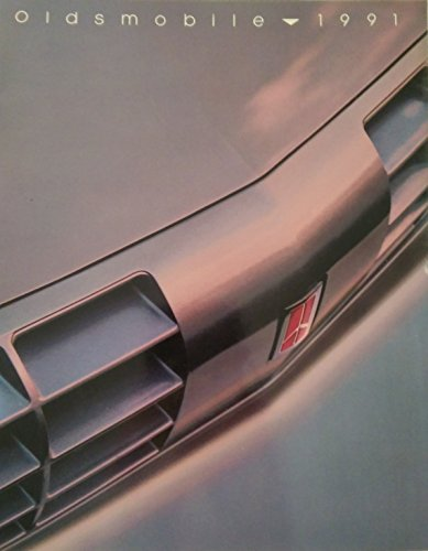 1991 Oldsmobile New Models Sales Brochure Book