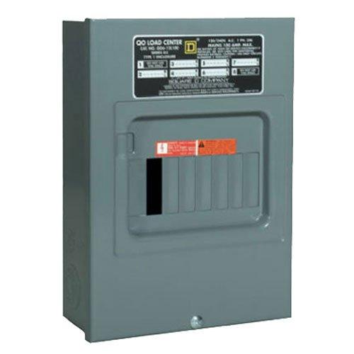 Your One Source QO612L100SCP 100-Amp Main Lug Load - Enclosure 100a Qo