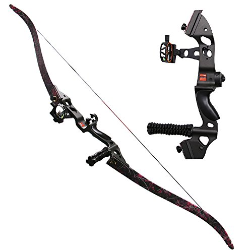 IRQ 40lbs Archery Takedown Recurve Bow for Hunting 60