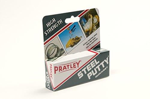 10 x Pratley Steel Metal Adhesive Epoxy Putty 125g / 4.4 ounces 84136 New by Pratley