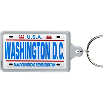 Amazon.com: Washington D.C. Licencia Placa (acrílico ...