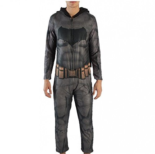 Batman Mens Dawn of Justice Batman Union Suit (Medium)]()