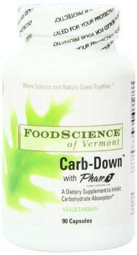 Питание Наука Вермонта Carb-Down, 90 граф