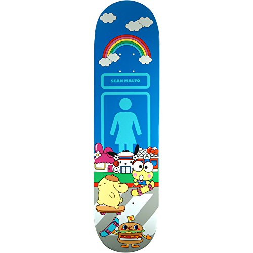 Girl Skateboards Sean Malto Hello Sanrio Skateboard Deck - 8.12