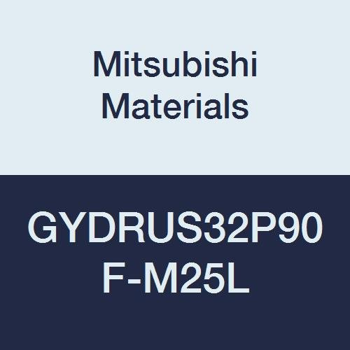 Mitsubishi Materials GYDRUS32P90F-M25L GY Series Modular Type Internal Grooving Holder with Left Hand M25 Modular Blade, Right Hand, 90° Angle, 3.25'' Neck, 2'' Height, 2'' Width, 6.75'' Length by Mitsubishi Materials