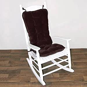 Jumbo Rocking Chair Cushion Cherokee Solid Wine Baby