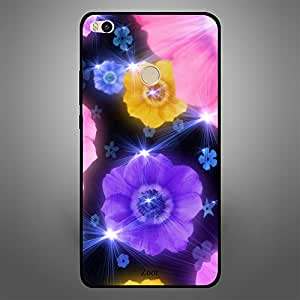 Xiaomi MI MAX 2 Yellow purple Flower