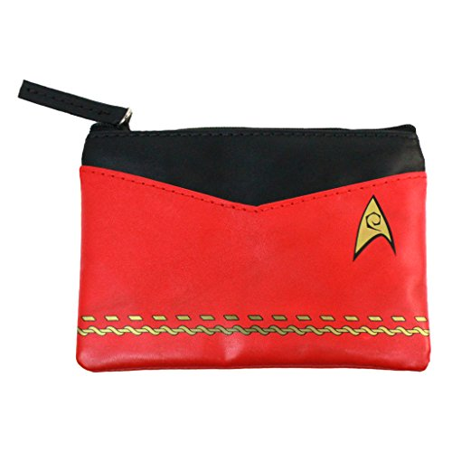 Star Trek Original Series Red Uniform Coin Purse