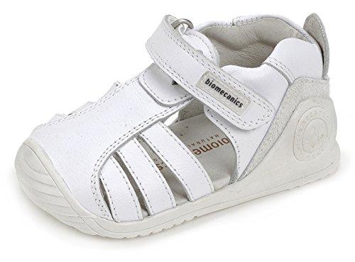 Biomecanics 172142, Sandalias para Bebés Blanco (White)