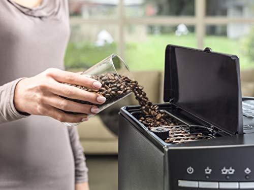 ماكينة تحضير القهوة ديلونجي ماغنيفيكا تحول حبوب القهوة غير المطحونة الى قهوة يمكن شربها مباشرة - لون اسود، موديل ESAM 3000.B