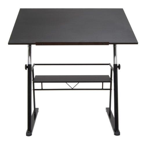 Pewter 30' Storage (STUDIO DESIGNS Zenith Drafting Table in Black 13340)