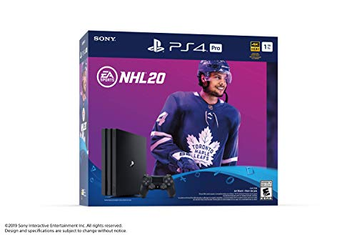 Sony PlayStation 4 1TB Pro Console - NHL 20 Bundle Edition - PlayStation 4 2
