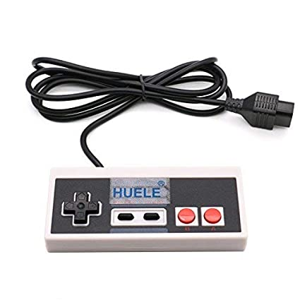 Amazon HUELE Classic NES Controllers For 8 Bit Entertainment System Console Control Pad Computers Accessories