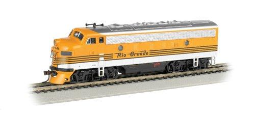 F7-A DCC Ready Diesel HO Scale Denver and Rio Grande Western Locomotive ()