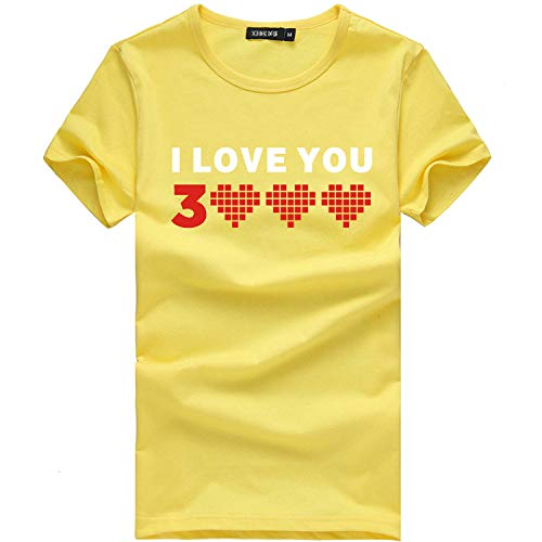 ✨Londony Dad I Love You 3056 Iron-Man Avengerss T-Shirt Fathers Mothers Day Summer Fashion Casual Men Tops Blouse - Ribbed Ring Seat