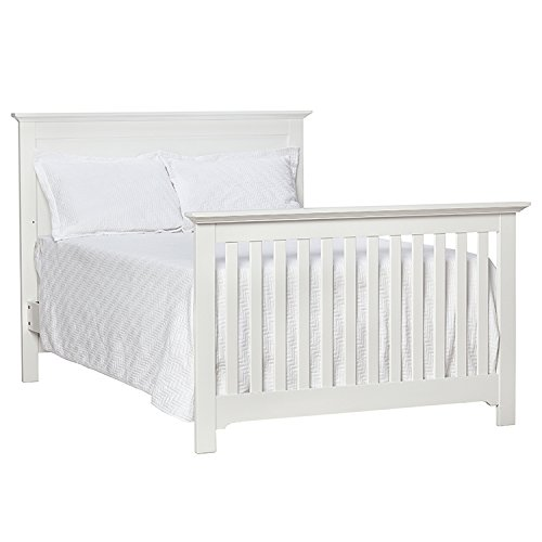 Full Size Conversion Kit Bed Rails for Baby Cache Chesapeak, Medford, Riverside & Windsor Cribs - Gray by CC KITS (Image #2)