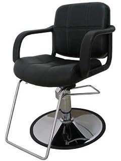 hydraulic barber chair styling salon work station chair black new omwah brand beauty salon styling chair hydraulic