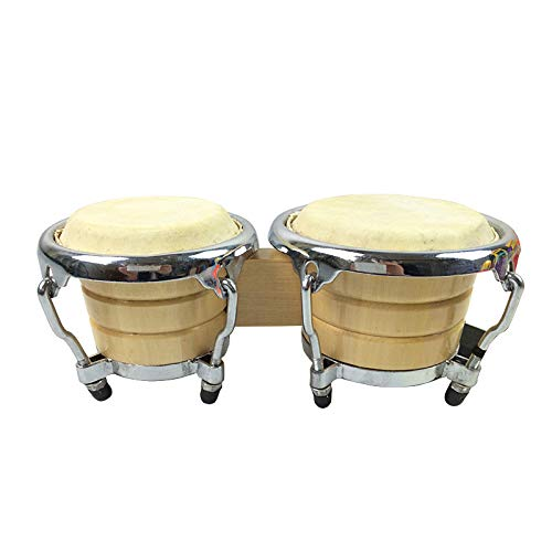 - Professional Bongos with Fiberglass Shells and Chrome Hardware, Finish-NOT Made in China-Black Fiberskyn REMO Heads, Free-Ride Suspension System